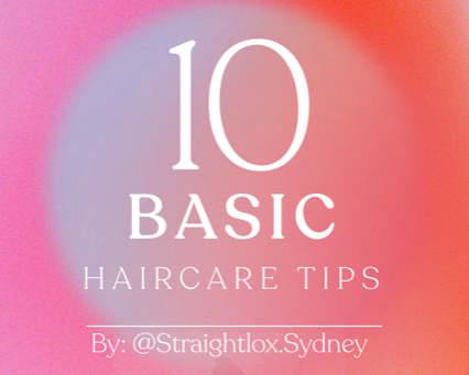 10 most basic hair-care tips
