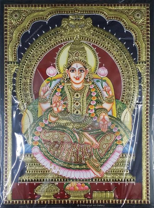 Mahalakshmi Double Embossed