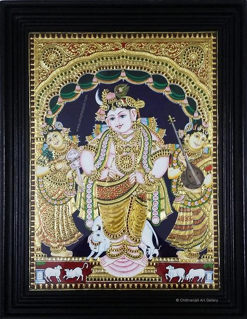 Vittobha Krishna Antique Style