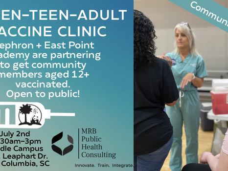 East Point Academy to Host a Community Tween, Teen, Adult Vaccination Clinic