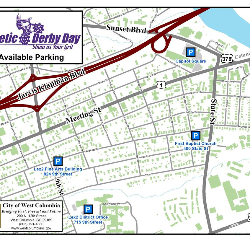 Kinetic Derby Day parking