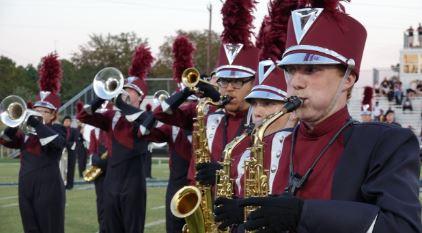The Pelion High School Marching Panther Pride