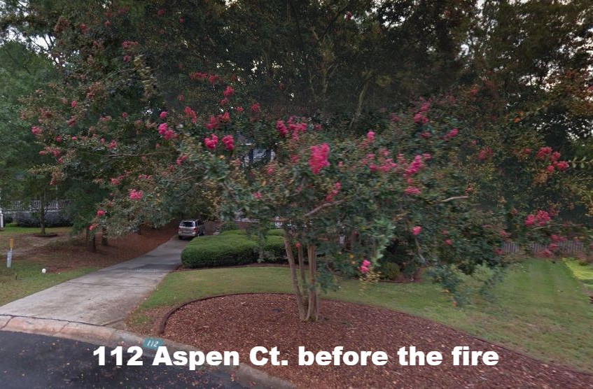 112 Aspen Ct before the fire