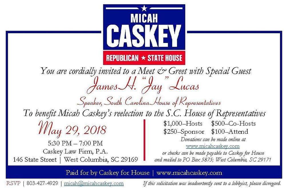 Mailer mailed by Lexington County Republican Party