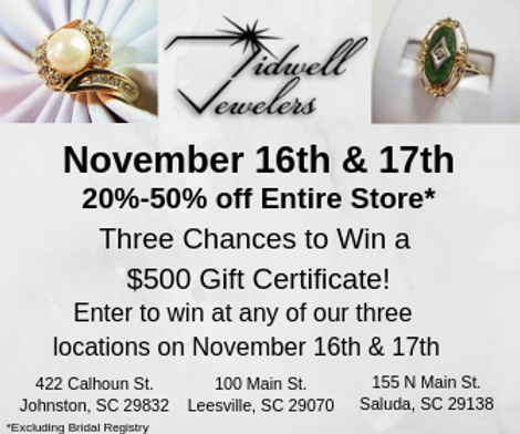 Three Chances to Win a $500 Gift Certifi
