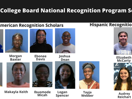 District Five students recognized by College Board National Recognition Programs