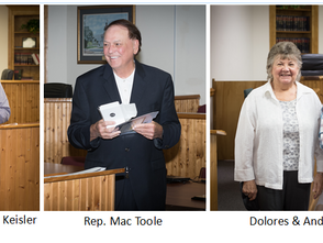 Friends of South Congaree-Pine Ridge Library recognize early library supporters