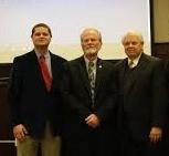 L to R - Councilman Preston Baines, Mayor David Knight, and Councilman Al Koon