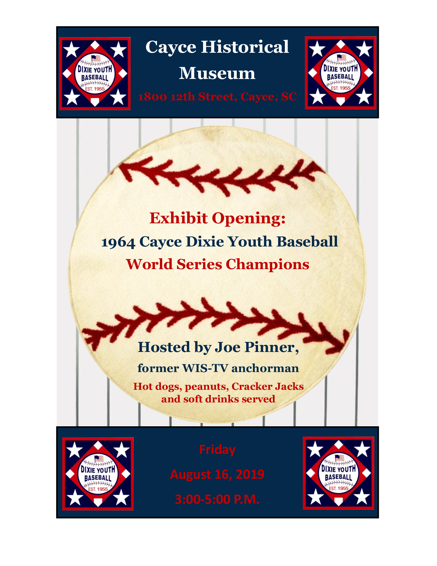 Cayce Historical Museum announces details for 1964 Cayce