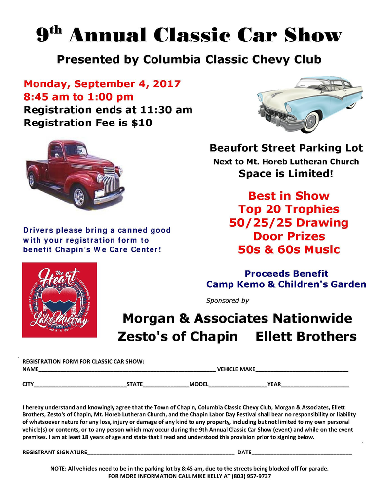 9th Annual Classic Car Show presented by Columbia Classic ...