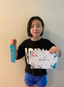 Child with certificate 1