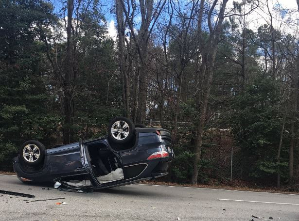 Ginny Lane car accident in Lexington Jan. 29, 2018