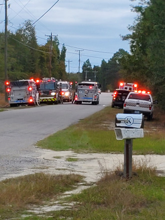 Several structure fires near Pelion keep firefighters busy Wednesday afternoon
