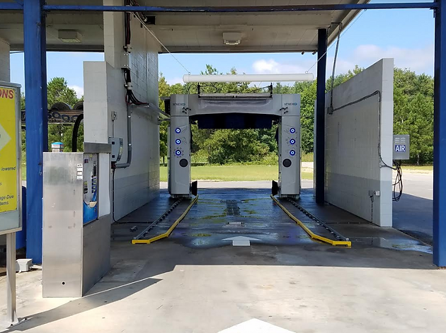 New high-end self-service car wash equipment installed in Gaston and