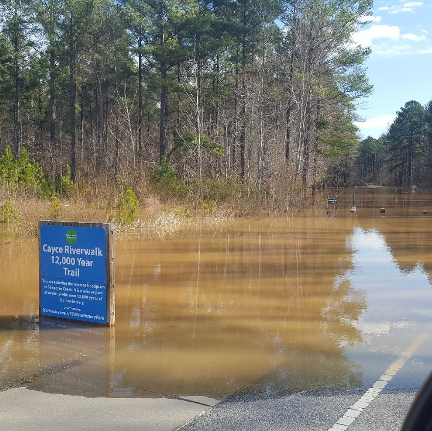 Flooding in Cayce