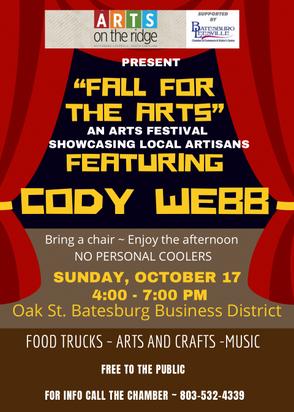 Arts Festival coming to Batesburg-Leesville