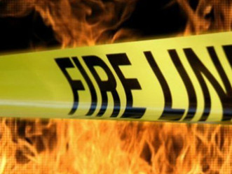 County firefighters battle mobile home fire on Gardner's Terrace Road Monday afternoon