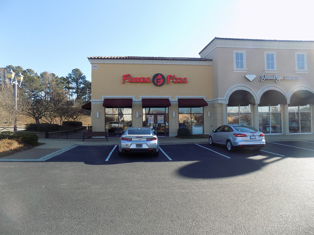The new sign is up at Firenza Pizza near Irmo