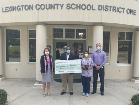 Educational Foundation Awards Health Fund Grants to Support Lexington District One Student Services