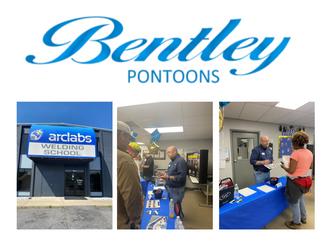 Bentley Pontoons partners with ARCLAB's Welding School