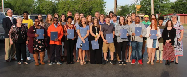 On Thursday, April 25th, thirty-seven seniors from B-L High School were recognized at the Batesburg-Leesville Chamber of Commerce breakfast at Shealy's BBQ for being named as an Honors Graduate and/or an Associate of the Arts degree recipient from Midlands Technical College.