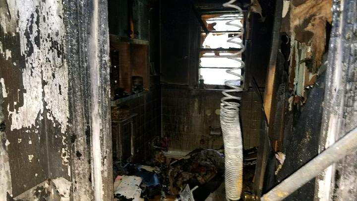 Families home destroyed by fire