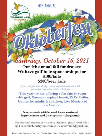 Oktoberfest coming to Chapin area this weekend