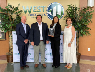 City of West Columbia awarded 2021 SC Community Development Association Award of Excellence