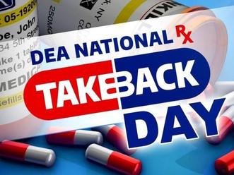 National Prescription Drug Take Back Day coming soon