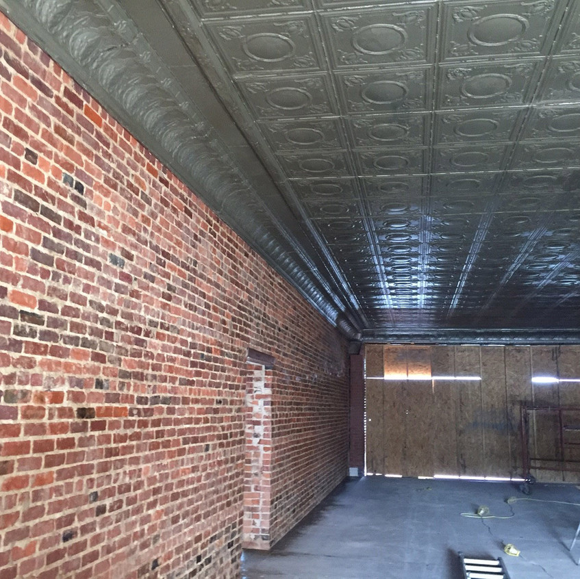 Some of the existing structure
