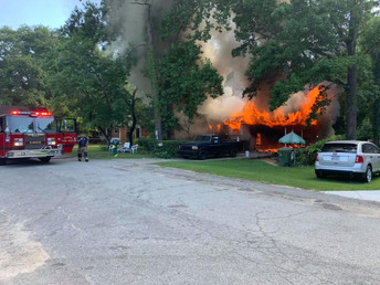 Single family home destroyed by fire in Cayce Thursday