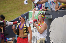 Student section at the Eagle's Nest