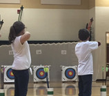Pelion Elementary School's Archery Team currently 1st place in SC State standings