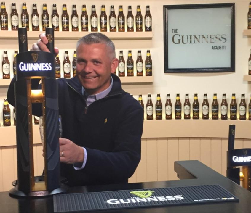 Matt O'Hara at Guinness