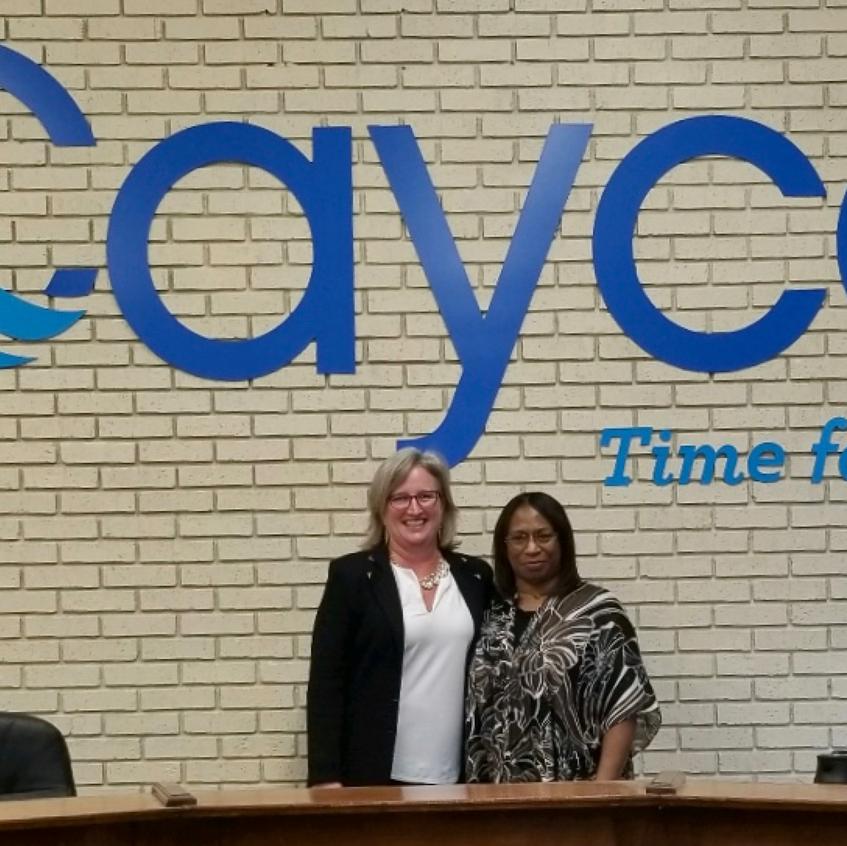Councilwoman Bailey-Robinson and Mayor E