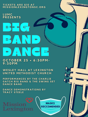 Lexington United Methodist Church to host Big Band Dance in support of Mission Lexington