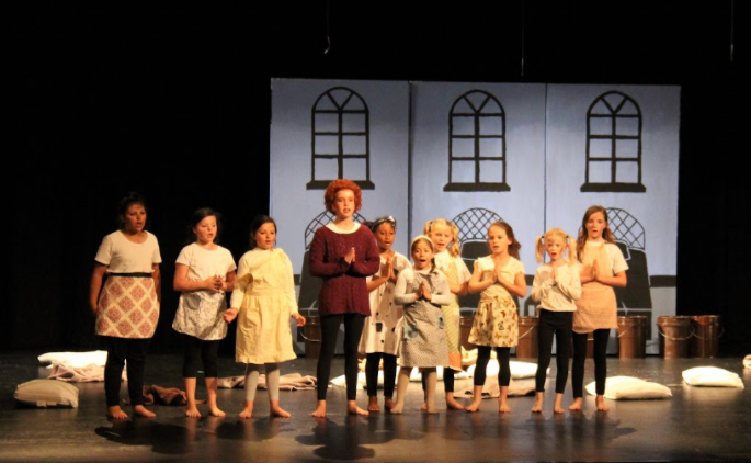 B-L Elementary School students performed the Broadway musical Annie Jr. on Saturday, May 18th at the Lexington Three Fine Arts Center. For more pictures, please visit Lexington Three's social media pages.