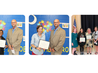 Irmo Chamber presents Teacher and Student of the Month Awards for September