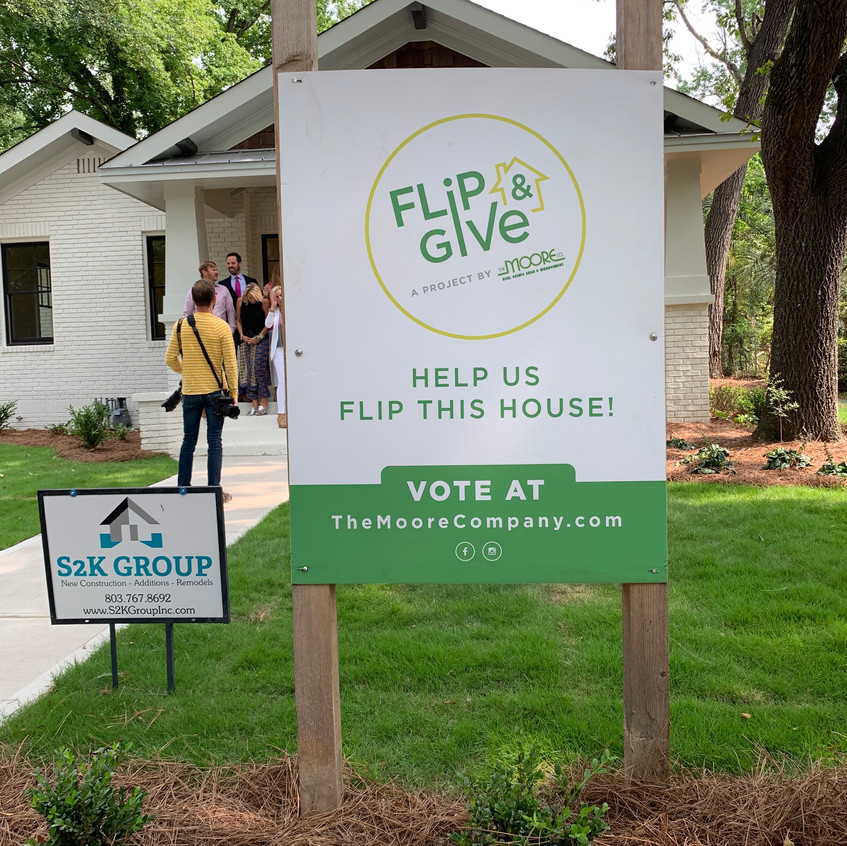 Flip and Give