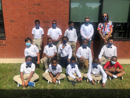 East Point Academy Boyz 2 Men Club celebrates with special week