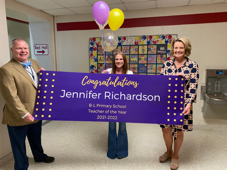 New Teachers of the Year Announced for 2021-2022 School Year