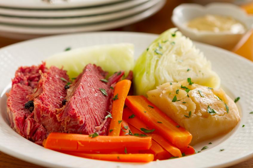 Corn Beef & Cabbage