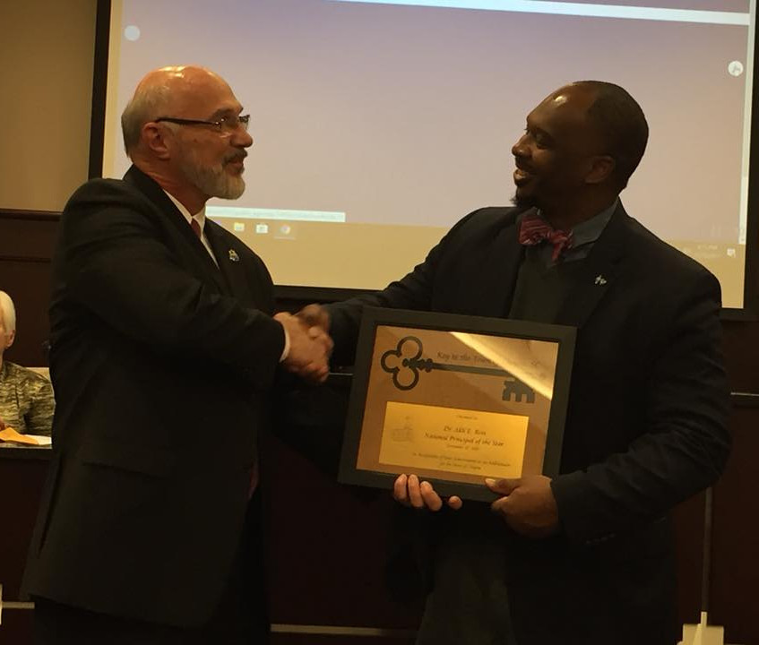 Dr. Akil Ross & Mayor Wilson