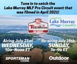 Lake Murray episode of Tackle Warehouse Pro Circuit Fishing to air this week