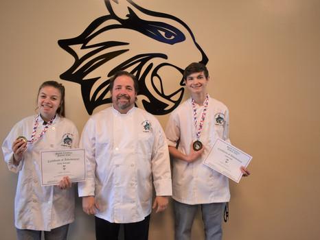 School District Five students win SC Junior Chef Competition