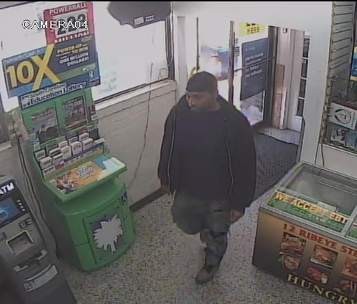 Suspect in robbery wanted