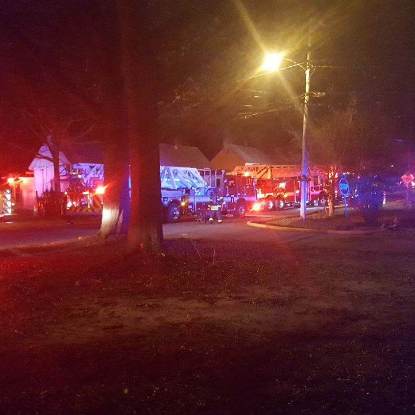 West Cola FD house fire