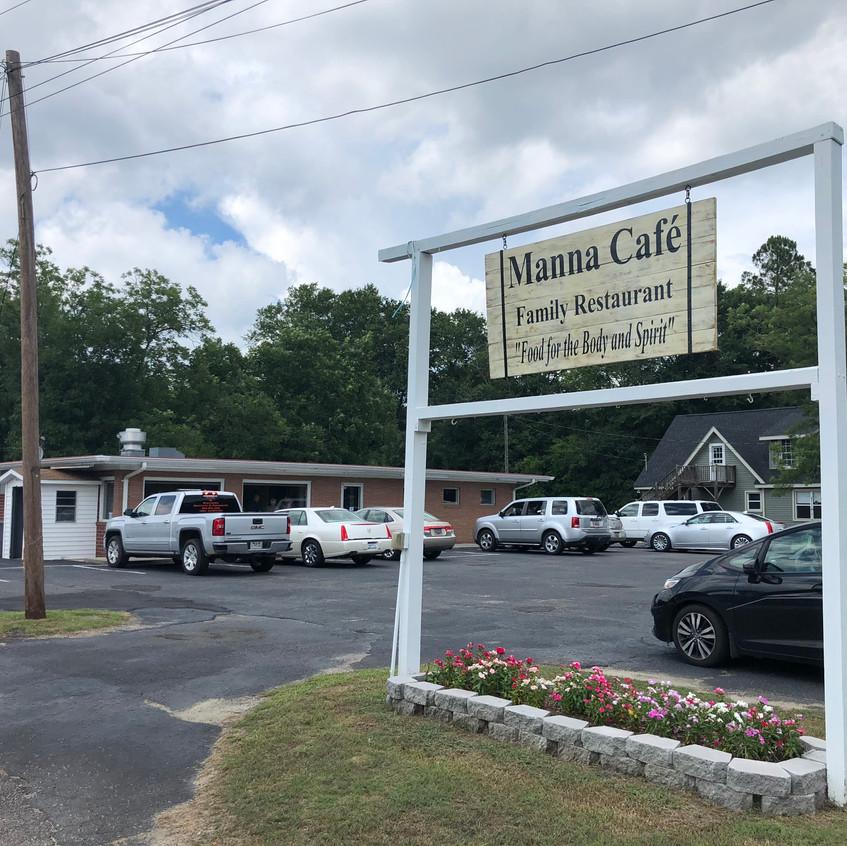 Manna Café store front