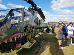 Kids with helicopter