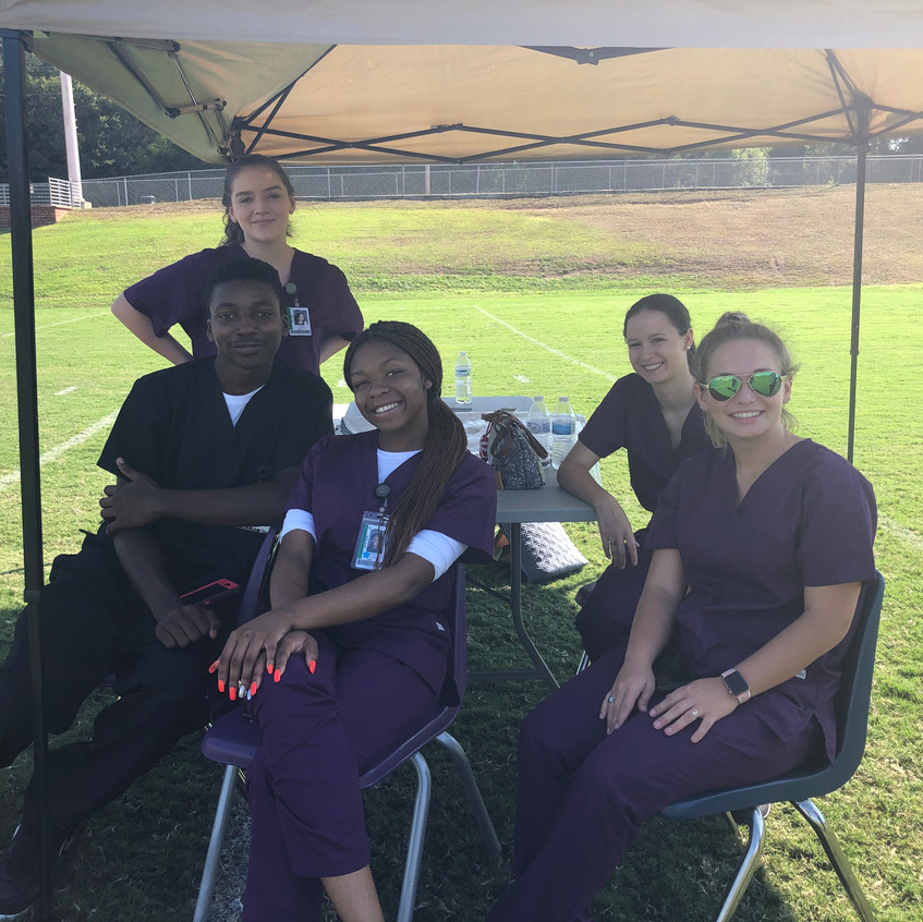 Swansea HS Clinical Students